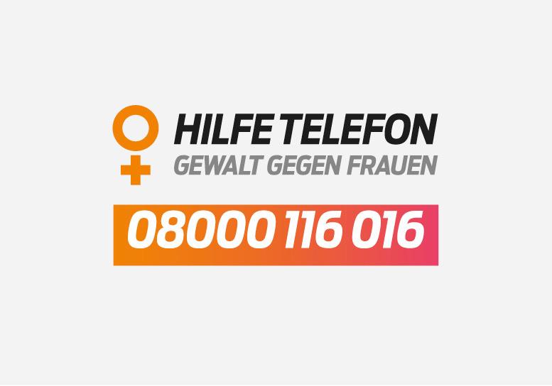 Hilfetelefon anrufen